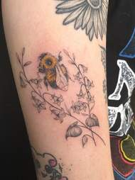 A tattoo of Beetrice