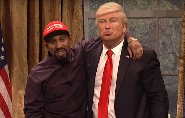 Alec Baldwin Returns to 'SNL' as Trump to Skewer Kanye West