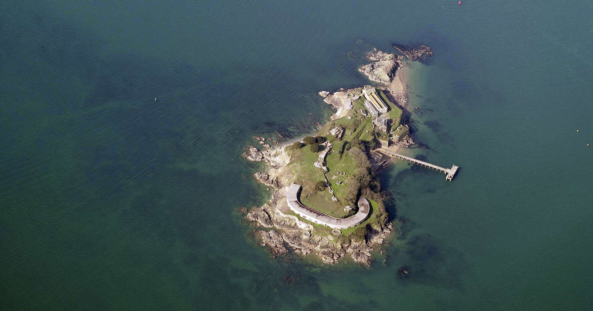 Looking for Your Own Island Fortress? This One's for Sale.
