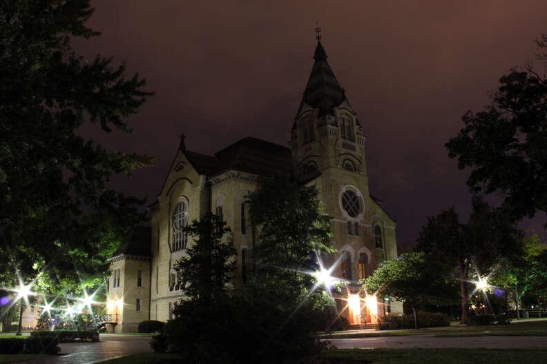Washington Hall Notre Dame University