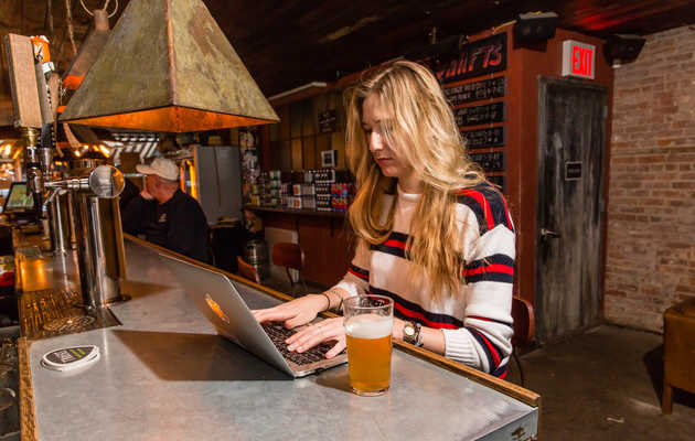 Stop Working From Coffee Shops and Start Working From Bars