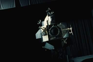 first man lunar module
