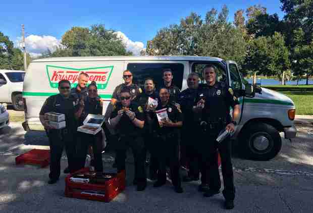 Police Find Stolen Krispy Kreme Truck and Donate the Donuts (But Eat Some First)