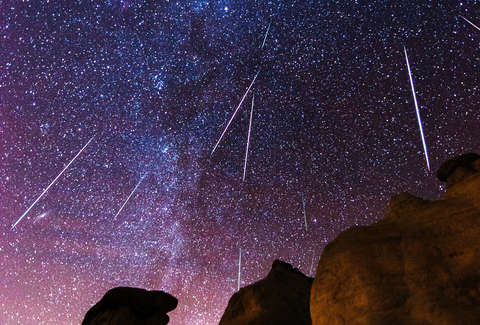 Orionid Meteor Shower 2018