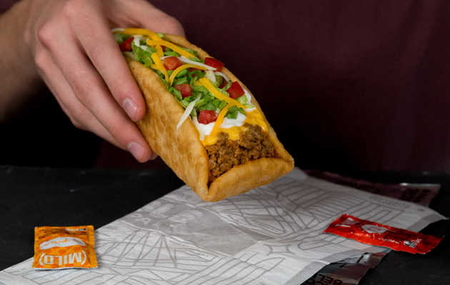 Taco Bell's Huge, Half-Pound Meat Boat Is Back