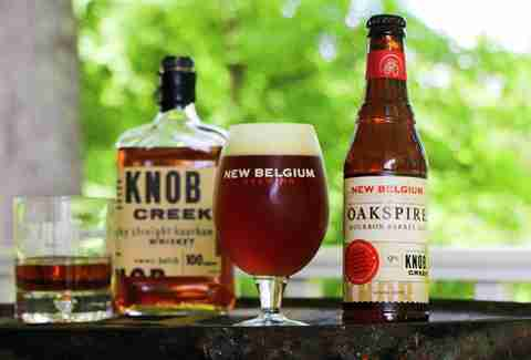New Belgium/Knob Creek Oakspire