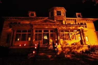 houghton mansion
