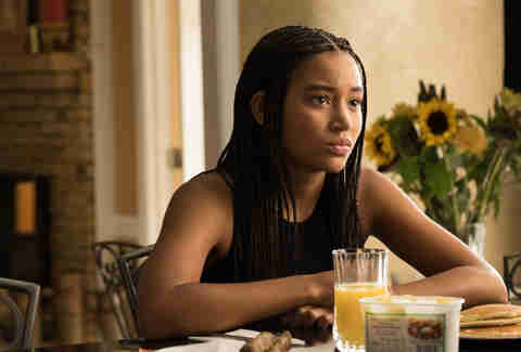 the hate u give amandla sternberg