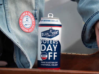 voters' day off beer