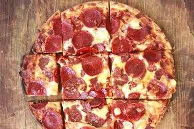 Outsiders pizza milwaukee style pepperoni cheese frozen pizzas tavern-style tavern pie