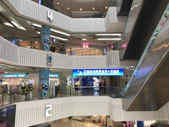Shopping mall in China