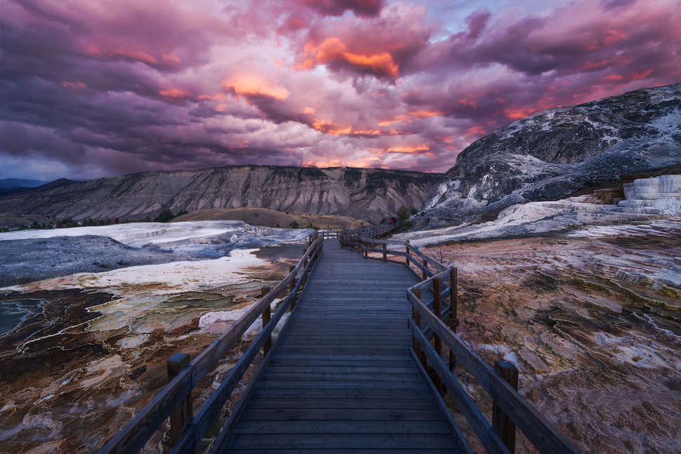 Yellowstone National Park, Mammoth Hot Springs