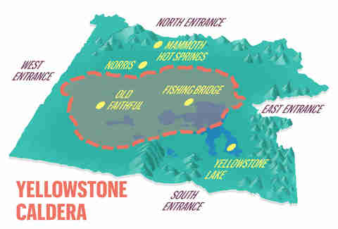 Yellowstone Supervolcano: Geologist Explains the Yellowstone Caldera on yellowstone volcano, yellowstone hotspot, yellowstone explosion prediction,