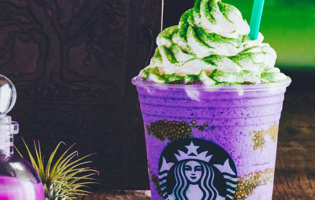 Starbucks' New 'Witch's Brew' Halloween Frappuccino Is Legit Scary-Looking