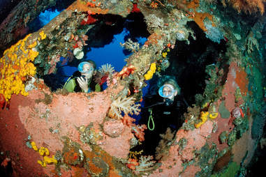 scuba divers Indonesia