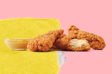 Burger King chicken fingers