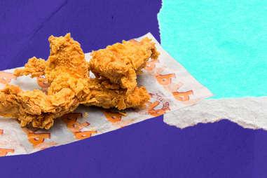 Popeyes chicken tenders