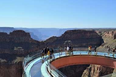 grand canyon airwalk sa'nyu wa restaurant