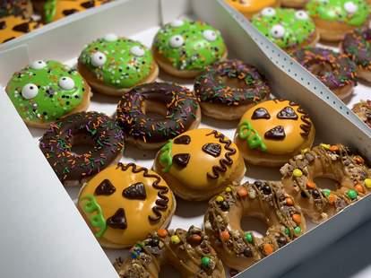 krispy kreme free donut halloween
