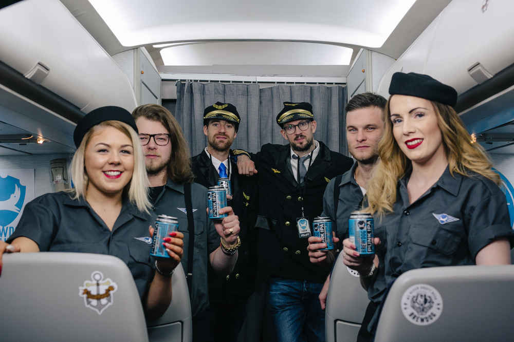 This Brewery Is Launching a New Airline Where Craft Beer Flows Like Water