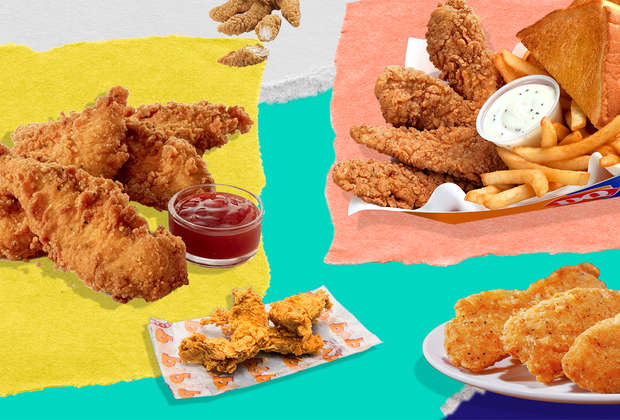 15 Fast-Food Chicken Tenders, Ranked