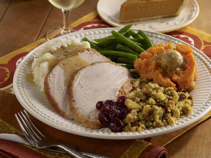 free food on Thanksgiving