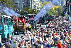 Here's the Scoop on the Red Sox Victory Parade in Boston