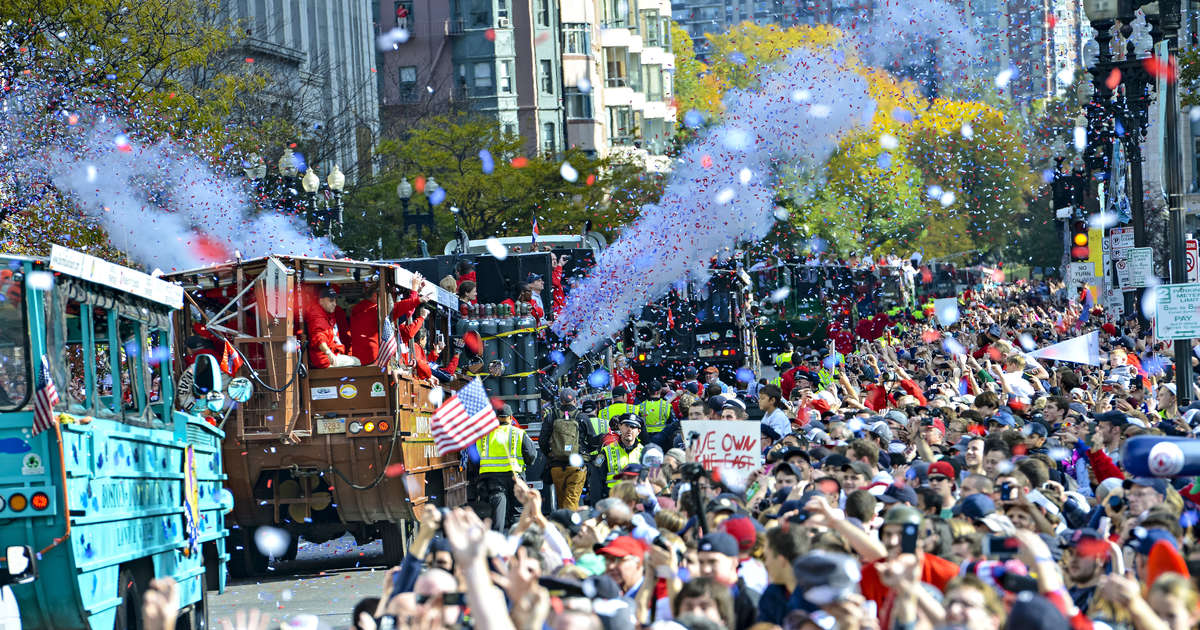cd2fa581546147 Boston Red Sox World Series Parade 2018: Parade Route Map, Time ...