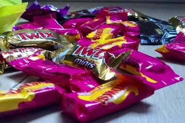 Halloween Candy Twix