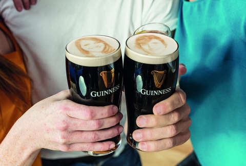guinness is going to put your selfie on your beer thrillist