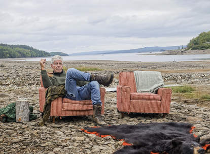 Anthony Bourdain filming Parts Unknown in West Virginia
