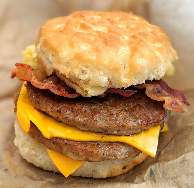McDonald's Biscuit Sandwich
