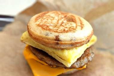 McDonald's Triple Breakfast Stack McGriddles