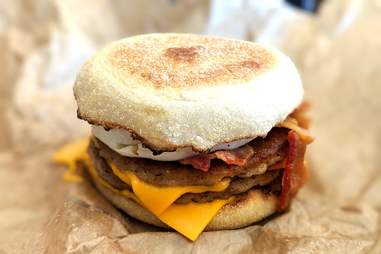 McDonald's Triple Breakfast Stack McMuffin