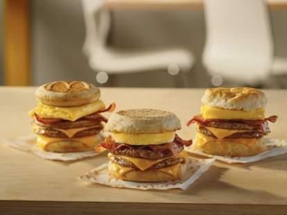 McDonald's new breakfast sandwiches