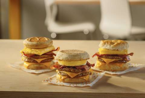 McDonald's new breakfast sandwiches