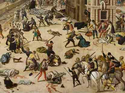 religious violence, religious conflict, St. Bartholomew's Day massacre