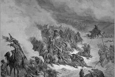 Gustave Doré, religious violence, Granada