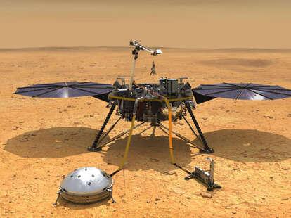 Mars InSight, NASA, marsquakes, Red Planet