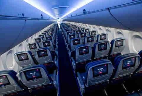 new delta flight