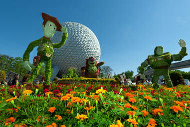 Toy story topiary epcot