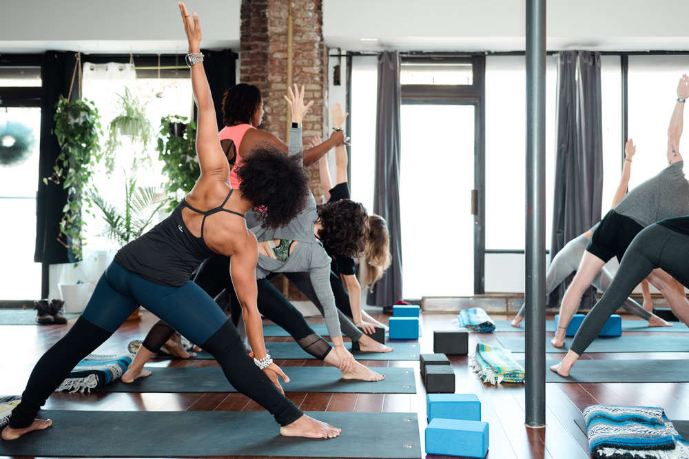 Best Drunk Yoga In Nyc Yoga Happy Hour Classes To Relax Drink Thrillist