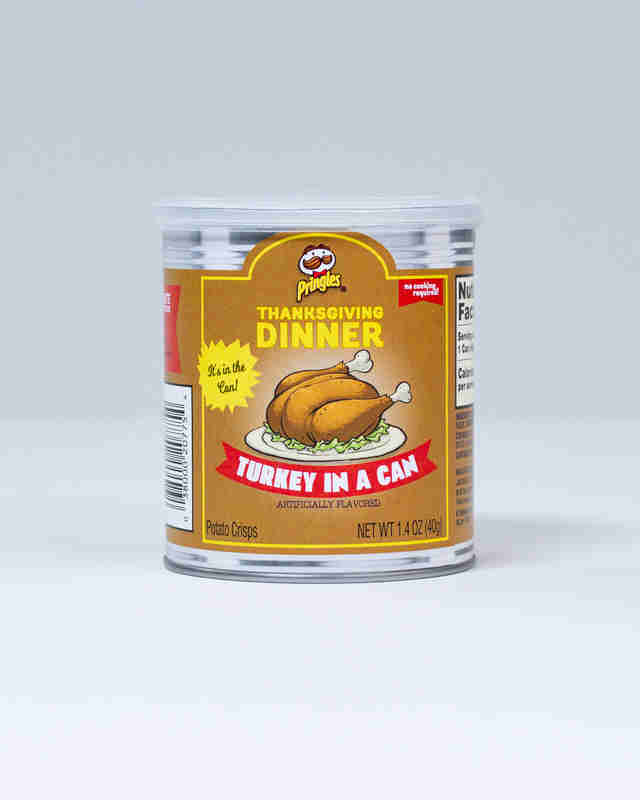Pringles Turkey in a Can
