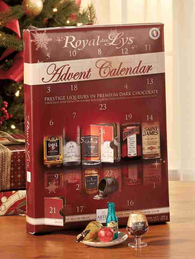 Royal Des Lys advent calendar