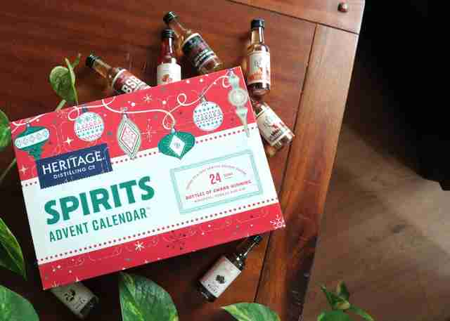 Heritage Distilling Company advent calendar