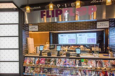 flip flop pancake shop