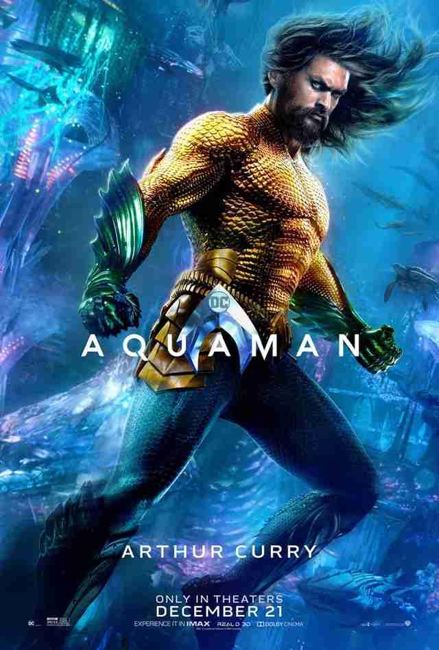 Aquaman Movie Posters:...
