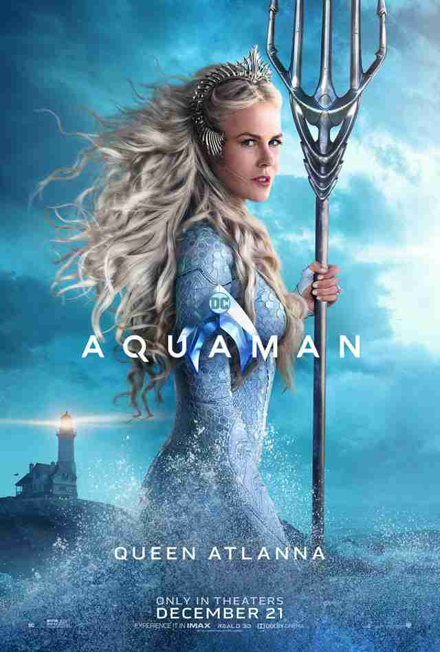 Aquaman Movie Posters The New Character Posters Are