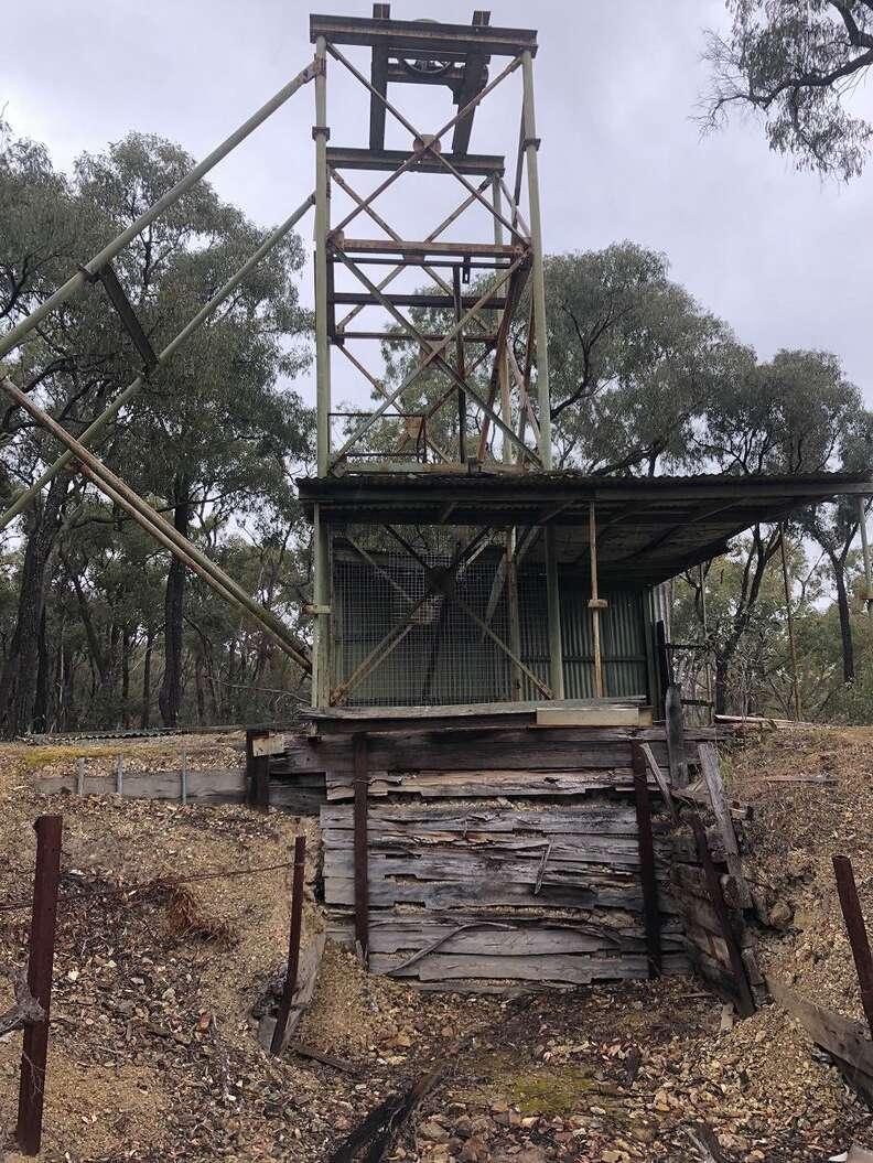 Old mineshaft in Australia