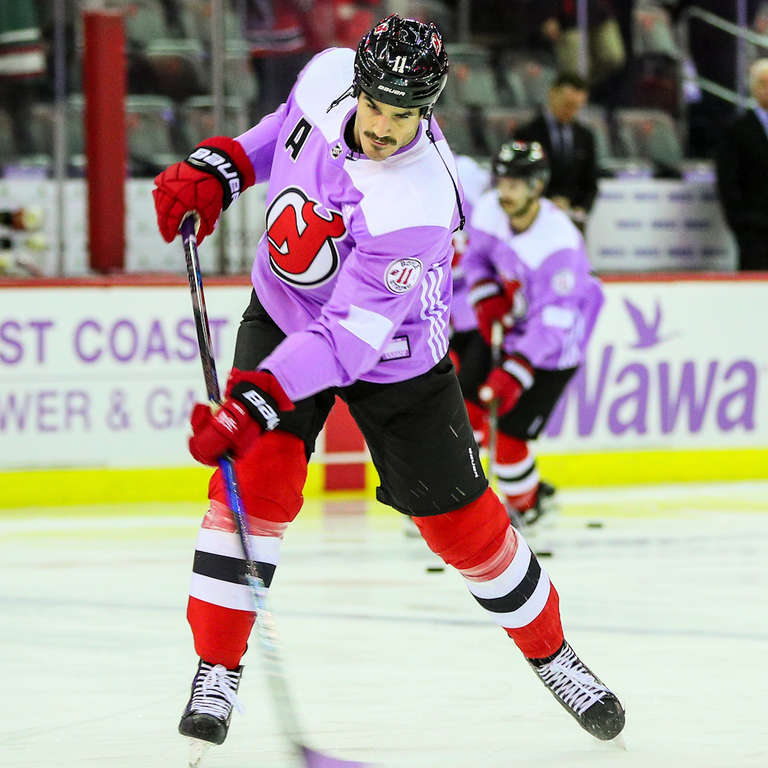 NHL Player and Cancer Survivor Brian Boyle Scored Hat Trick 93fe73015
